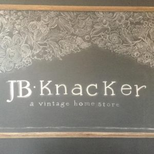 JB Knacker, Gilbert, Iowa, Ames, Iowa, Vintage, Home Store